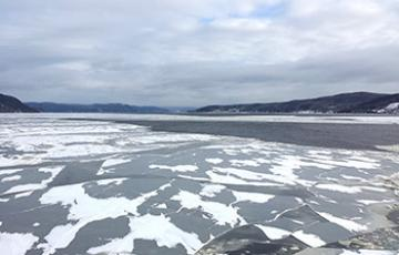 Saguenay Fjord in January